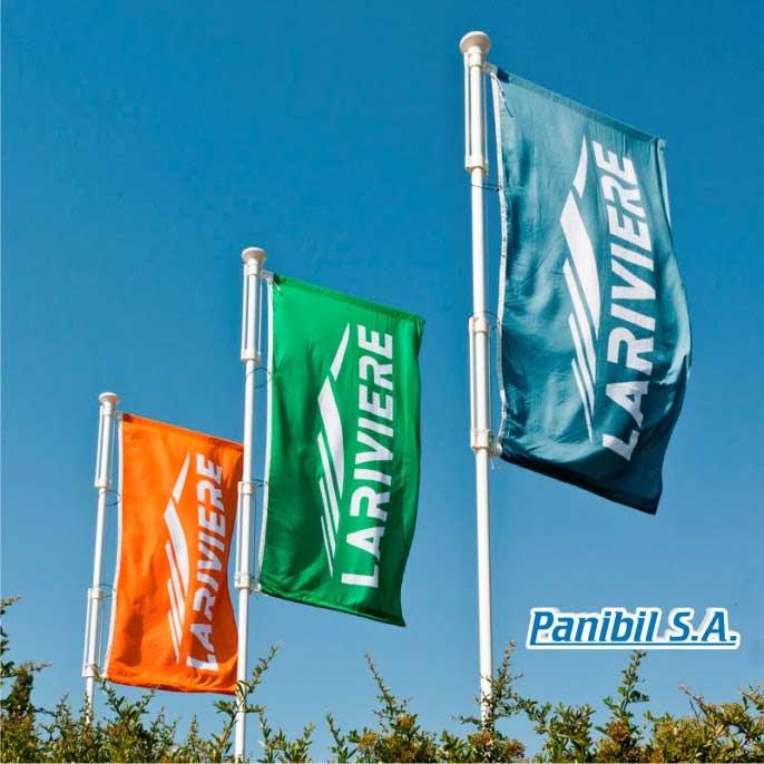 banderas impresas